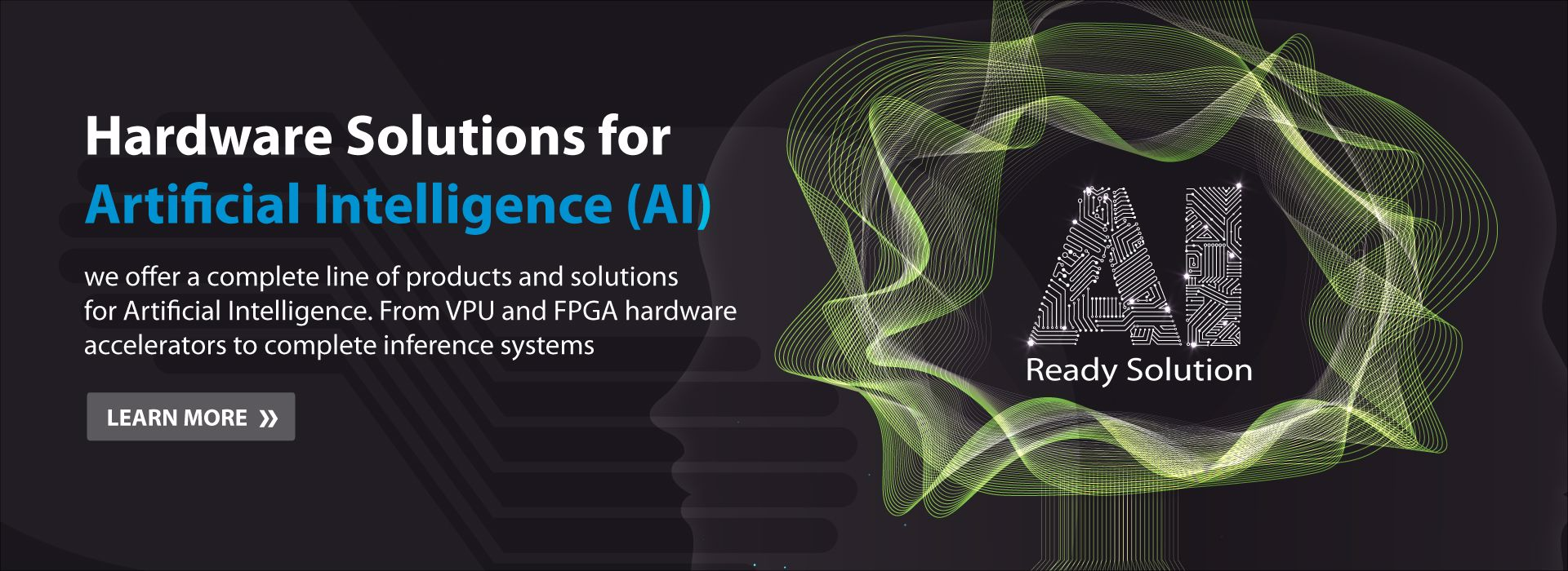 products and solutions for artificial intelligence